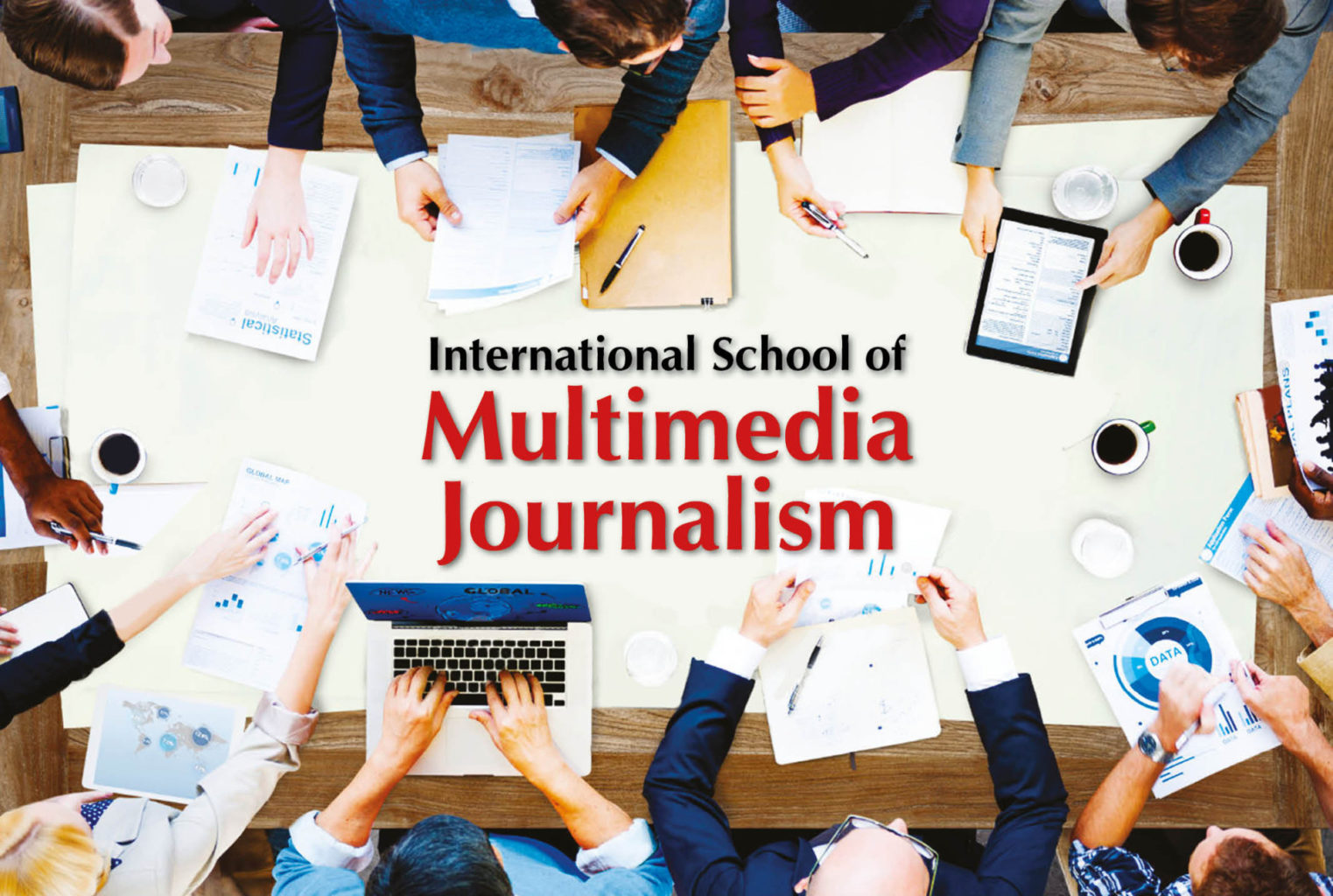 International School of Multimedia Journalism Logo