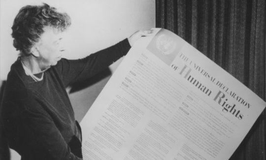 Wahrung und Förderung von Menschenrechten