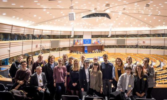 Brussels calling – Journalismus-Studierende zwischen Parlament und Kommission