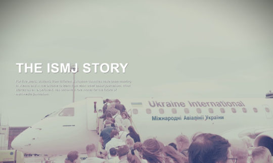 The ISMJ Story: International Education in Multimedia Journalism