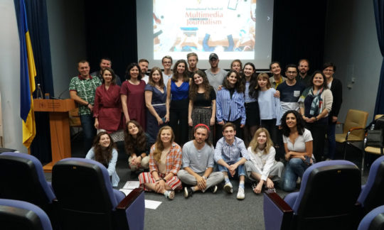 """Österreichisch-ukrainisches Journalismusprojekt """"International School of Multimedia Journalism"""" feiert Jubiläum"""