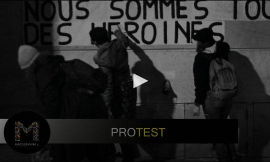 Mosaik: Protest