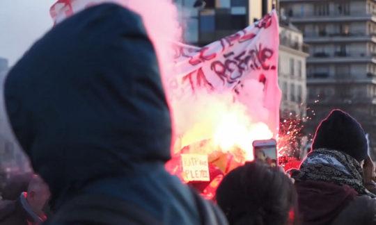 Protester à la française, Aufstand auf Österreichisch