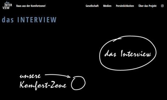 Das Interview – Raus aus der Komfortzone